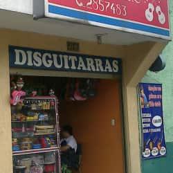 Disguitarras en Bogotá