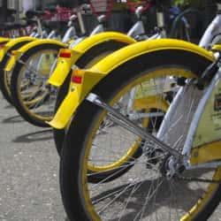 Bicicorredor Eje Ambiental en Bogotá