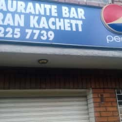 Restaurante Bar la Gran Kachett en Bogotá