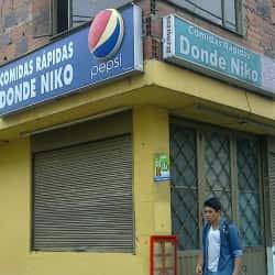 Comidas Rápidas Donde Niko en Bogotá