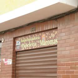Fotocopiadora Papelería Maromas en Bogotá