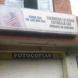 Licorera la Gran Estrella Luz en Bogotá