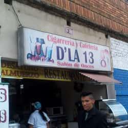 Cigarrería y Cafetería D La 13 en Bogotá