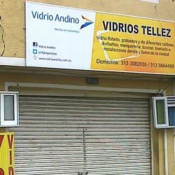 Vidrios Tellez en Bogotá