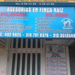 Asesorias en Finca Raiz en Bogotá