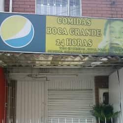 Comidas Boca Grande en Bogotá