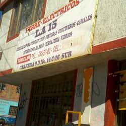 Ferre Eléctricos la 15 en Bogotá