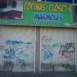 Cocina Closet´s Marmoles en Bogotá