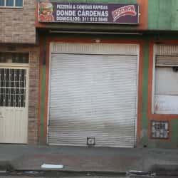 Donde Cardenas en Bogotá
