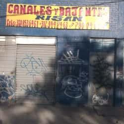 Canales y Bajantes Risan en Bogotá