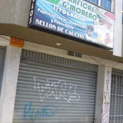 Gráficos G. Moreno en Bogotá