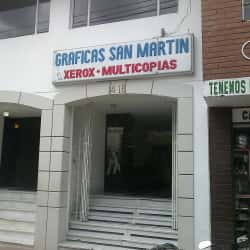 Gráficas San Martín en Bogotá