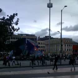 Plaza de la Mariposa en Bogotá