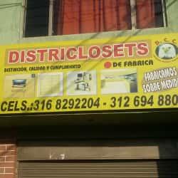 Districlosets D.C.C en Bogotá