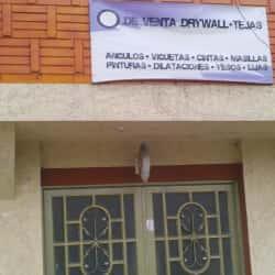 Punto De Venta Drywall Tejas en Bogotá