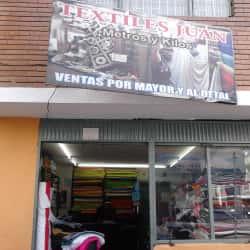 Textiles Juan en Bogotá