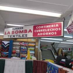 Almacén La Bomba Textiles en Bogotá