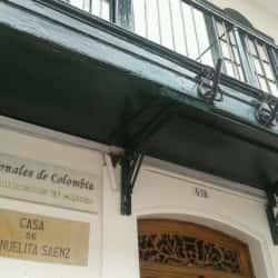 Casa de Manuelita Sáenz en Bogotá