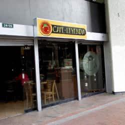 Café Leyenda en Bogotá