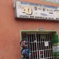 Eléctricos y Ferretería La 40 en Bogotá