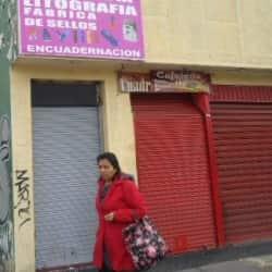Tipografía Litografía Avenida 1 de Mayo en Bogotá