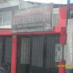 Cocinas Integrales Arte y Decoración DM en Bogotá