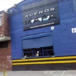 Aceros Mapa en Bogotá