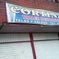 Cortinas Taller Decorativo en Bogotá