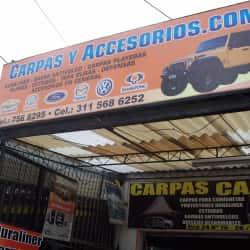 Carpas y Accesorios.com en Bogotá