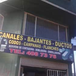 Canales Bajantes y Ductos en Bogotá