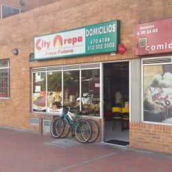 City Arepa en Bogotá