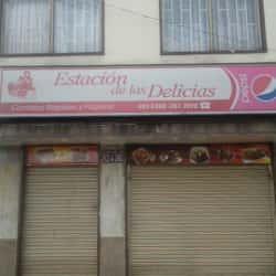 Estación de las Delicias en Bogotá
