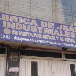 Fábrica De Jeans Industriales en Bogotá