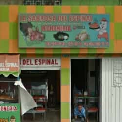 Lechonería la Sabrosa Del Espinal en Bogotá