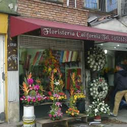 Floristería California en Bogotá