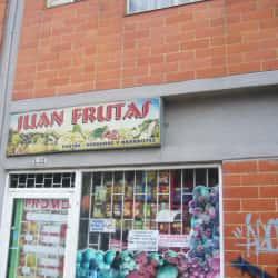 Juan Frutas  en Bogotá