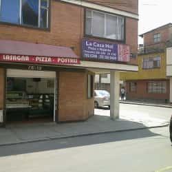 Pizzería La Casa Hot  en Bogotá