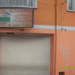 Restaurante La Esquina Naranja en Bogotá