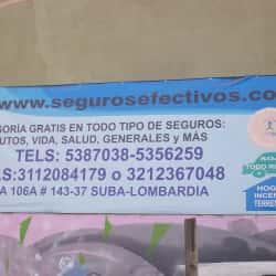 Seguros Efectivos  en Bogotá
