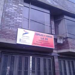 Espejos y Vidrios La 46 en Bogotá
