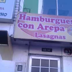 Hamburguesa Con Arepa Lasagnas en Bogotá