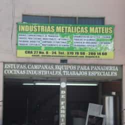 Industrias Metálicas Mateus en Bogotá