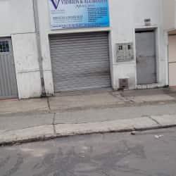Vidrios y Aluminios Milton Cortes en Bogotá