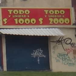 Todo Por Unidad a 1.000 en Bogotá
