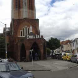 Iglesia Santa Ana en Bogotá