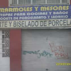 Mármoles y Mesones en Bogotá
