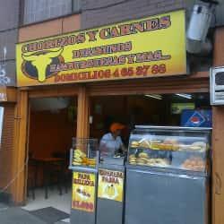 Chorizos y Carnes en Bogotá