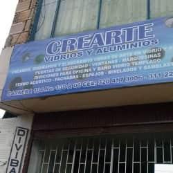 Crearte Vidrios y Aluminios en Bogotá