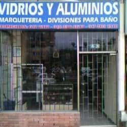 Vidrios y Aluminios Diagonal 115 con 45 en Bogotá