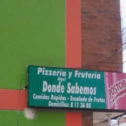 Pizzería y Frutería Aquí Donde Sabemos  en Bogotá
